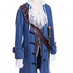Pirate Captain in blue M-L ref 2135