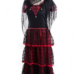 spanish flamenco dress ref 0620