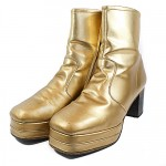 gold 70's boots other styles avaliable