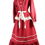 Victorian hooped dress