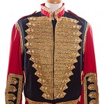 Gold and red braded uniform/michael jackson ref 0199