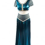 silk blue belly dancer various styles avaliable ref 0029