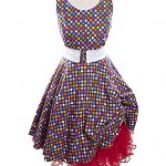50's Rock & Roll smartie dress with matching petticoats size 12. Various styles and sizes avaliable. ref 0883