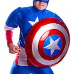 captain america with shield ref j0011