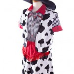 wild west cow girl ref 1706