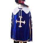 beautiful blue velvet three musketeers