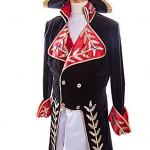 black velvet and red/emperor napoleon ref 0147