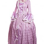 18th Century Lady in lilac with matching bonnet/Disney Tangled ref 1687