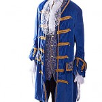blue velvet pirate/18th century prince ref 1149
